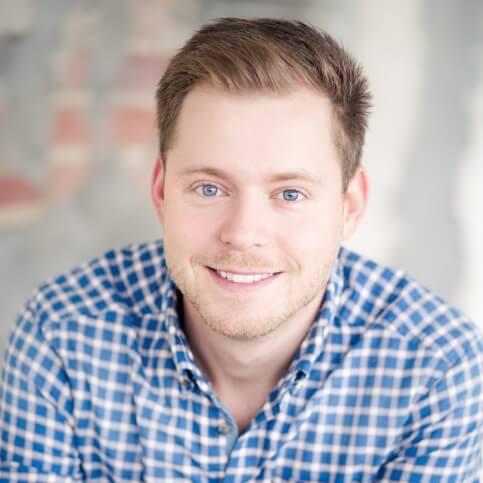 Andre Hoffschröer von Ernsting's family macht Remote-Usability-Tests
