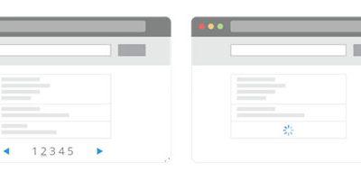 """Pagination vs. Infinite Scrolling – Wie Sie Ihren Kunden """"Mehr"""" geben"""