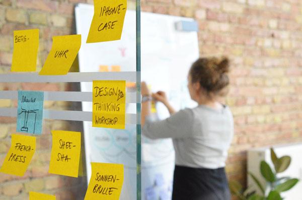 Design-Thinking ist ein wichtiger Teil des UX-Seminars